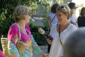 Interview für ein Radiofeature